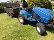 Iseki Sg15 Tow Tug Compact Garden Tractor With Snow Plow Plough Diesel