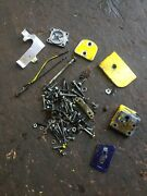 Oem Mcculloch Super 33 Chainsaw Miscellaneous Parts Nuts Bolts Covers... W36