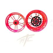 Yzf Stock Size Candy Red Contrast Cut Kilo Wheels 2009-2014 Yamaha Yzf R1