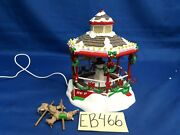 Lemax Village Collection Christmas Carousel 84822 As Is Eb466
