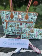 Disney Dooney And Bourke It's A Small World . Just Released. Nwt