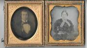 2 Daguerreotypes Probably Husband And Wife