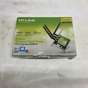 New Sealed Tp-link Tl-wdn4800 N900 Wireless Dual Band Pci Express Adapter