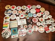 American Red Cross 51 Buttons  Pin Backs Give Blood Donors