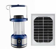 Sintechno 2-in-1 Solar Bright Led Emergency And Camp Lantern With Cell Phone Cha