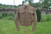 Ww2 British Army Battledress Blouse Badged As 1st Airborne Recce Sqdand039n