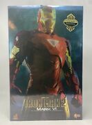 Hot Toys 1/6 Scale Iron Man 2 Mark 6 Mk Vi Collector Edition Mms132 Marvel