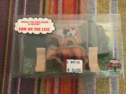 Learning Curve Wooden Thomas The Train Cow On The Line Pack New Rare