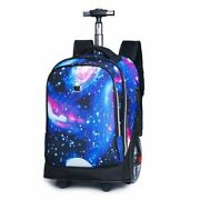 Carry On Luggage With Wheels Bag Travel Backpacks Usb Port Laptop Compartment