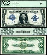 1923 1 Silver Certificate Low Number 44 Forty Four Fr-237 Pcgs Graded