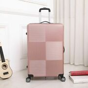 Carry On Luggage With Wheels Rolling Spinner Travel Suitcase Hard Shell Trolley