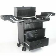 Carry On Luggage With Wheels Spinner Cosmetic Travel Trolley Makeup Organizer