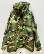 Us Military Ecwcs Gore Tex Cold Weather Woodland Camo Parka - X-large Long.