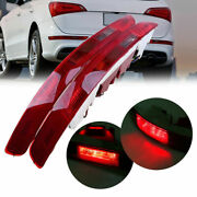 Rear Lower Bumper Reflector Tail Light Reverse Stop Lamp For Audi Q5 2.0t 09-16