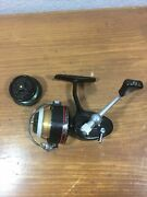 Vintage Garcia Mitchell 308 Spinning Reel W/ Unique Gray Spool, Made In France