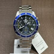 Casio Edifice Efv-540d-1a2 Standard Chronograph Stainless Steel Menand039s Watch