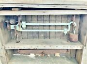 Antique Gristmill/feed Mill Floor Scale Farm Fresh Rough But Beautiful And Rare