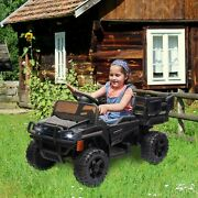 12v Kids Ride On Electric Battery Powered Farm Tractor Toy W/ Remote Control