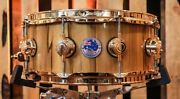 Dw Collectorand039s Tasmanian Natural Lacquer Snare Drum - 5.5x14 - So1188928