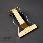 Tailpiece Fancy Old Vintage 50and039s Style For Archtop Guitar Type Es-175 - Gold