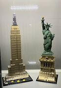 Lego Architecture Statue Of Liberty 21042 And Empire State Building 21046