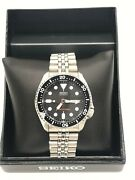 Seiko Automatic Diver 200m Stainless Band 7s26s-0020 Glow In The Dark Dials Euc