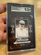 Babe Ruth Sgc 9.5 Leaf Mint 2016 Collector Card New York Yankees Man Cave Gift
