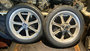 Yamaha Xs400 Wheel Front And Rear Pair 2a2-25168-00-98 Oem Genuine