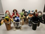 Star Wars Episode 1 Cup Toppers 1999 Kfc Taco Bell Pizza Hut Pepsi Set Of 12