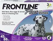 Frontline Plus For 45-88 Lbs Large Dogs Flea And Tick Treatment - 3 Doses