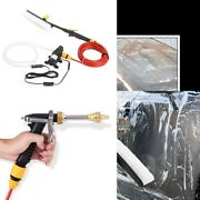 High Pressure Car Power Water Washer Spray Wand Lance Nozzle Tips Hose Kit 12v