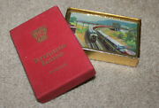 Pennsylvania Railroad Playing Cards Pinochle Prr Vintage Collectible Sealed