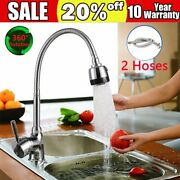 Pull Down Out Kitchen Tap Faucet Spray Swivel Spout Single Handle Sink Mixer Us