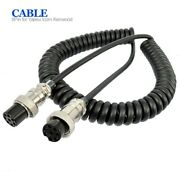 Flexible 8 Pin Microphone Extension Cable For Yaesu Kenwood Icom Walkie Talkies