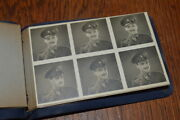 Pocket Photo Album Contact Sheets British Army Officer 1940