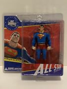 Dc Direct All Star Superman Series 1 Action Figure Dc Comics Mint In Box. Wow
