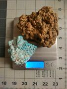 Nevada Broken Arrow Natural Turquoise Nuggets Total Dry Weight 312.7gshows Dandw