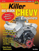 How To Build Killer Big-block Chevy Engines Bookstreet/strip 396-572 New