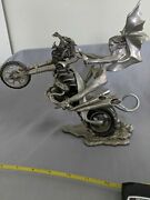 Franklin Mint Motorcycle Pewter Julie Bell Passion Burns