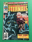 The Eternals 1 Comic Book 1976 Jack Kirby 1st Appearance Of The Eternals