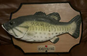 Vintage Big Mouth Billy Bass Fish Sings Songs Bar Man Cave Shed Don't Worry 1999
