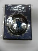 Sephora Disney Cinderella Compact Mirror Limited Edition Blue And Silver New/boxed