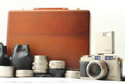 【mint】contax G1 20th Anniversary Limited Kit Film Camera Home Appliances From Jp