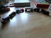 Marx O Scale New York Central Diesel Yard Locomotive 588 With 5 Cars Sou 51100