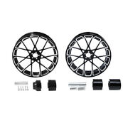 18'' Front And Rear Wheel Rims Hub Fit For Harley Electra Road Glide 08-21 Non Abs