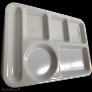 12 Vintage Texas Ware Trays Divided Cafeteria Luncheon Food - Very Glossy