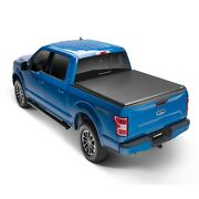 Lund 969370 Black Hard Fold Vinyl Truck Bed Tonneau Cover For Ford F-150 96 Bed