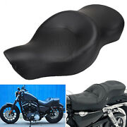Two Up Driver Passenger Seat For Harley Sportster Low Xl1200l Roadster 48 72