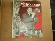 Metronome Magazine June 1940, Bobby Byrne On Cover, See Contents + Advertisers
