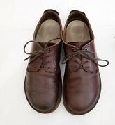Birkenstock Gilford Low Derby Leather Lace Up Shoes Brown Oxford Eu 40 Regular